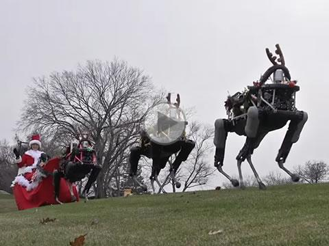 Boston Dynamics - Happy Holidays