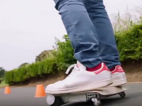 Walk Car invented in Japan