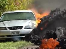 Lava Swallows Car